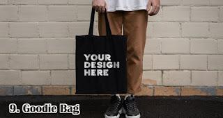 Goodie Bag merupakan salah satu pilihan isian hampers menarik untuk awal tahun