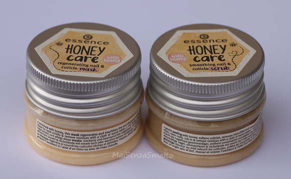 Essence Honey Care - scrub & mask