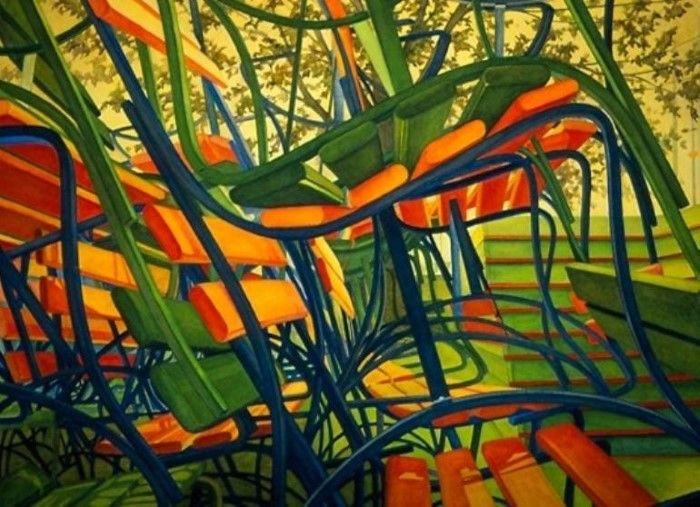 Изысканность линий и форм. Carol Ann Schrader