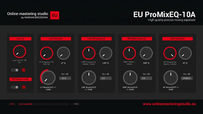Get EU ProMixEQ-10A Equalizer VST Plugin for Windows Free