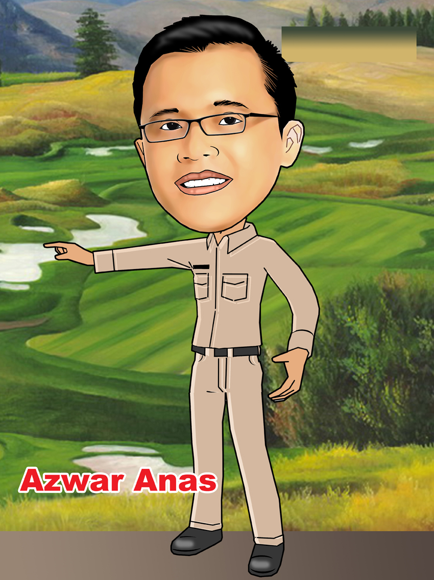 PESAN KARIKATUR MURAH Karikatur Bupati Banyuwangi