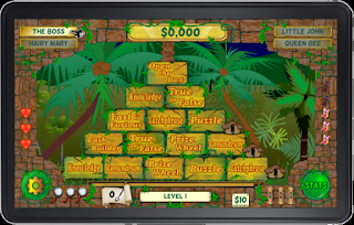 Screen shot of Aztec Pyramid