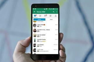 New BBM MOD Buble chat sar v3.3.3.39