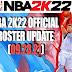 NBA 2K22 OFFICIAL ROSTER UPDATE 09.23.21