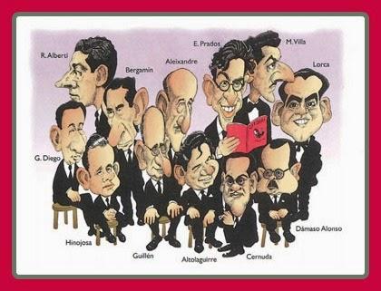 Caricatura Generación del 27