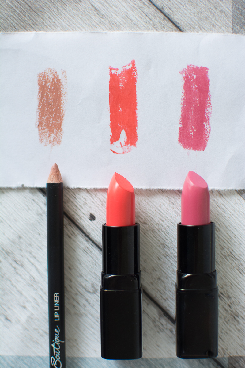 Budget Lipsticks For Summer sainsbury's boutique review