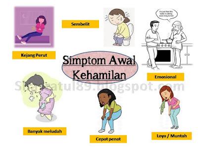 hamil, simptom, awal hamil, awal kehamilan, loya, muntah, kejang, sembelit, shaklee