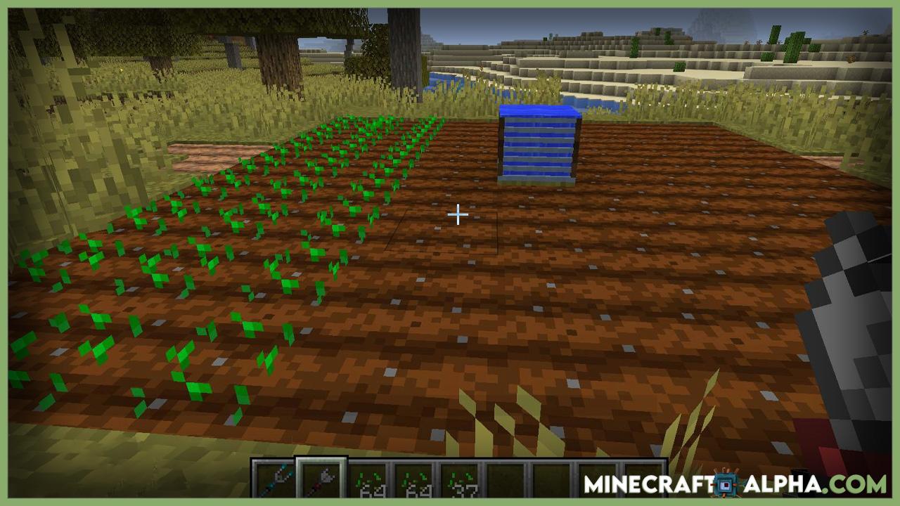 Minecraft Gardening Tools Mod 1.17.1 (Speed Up Farming Tilling)