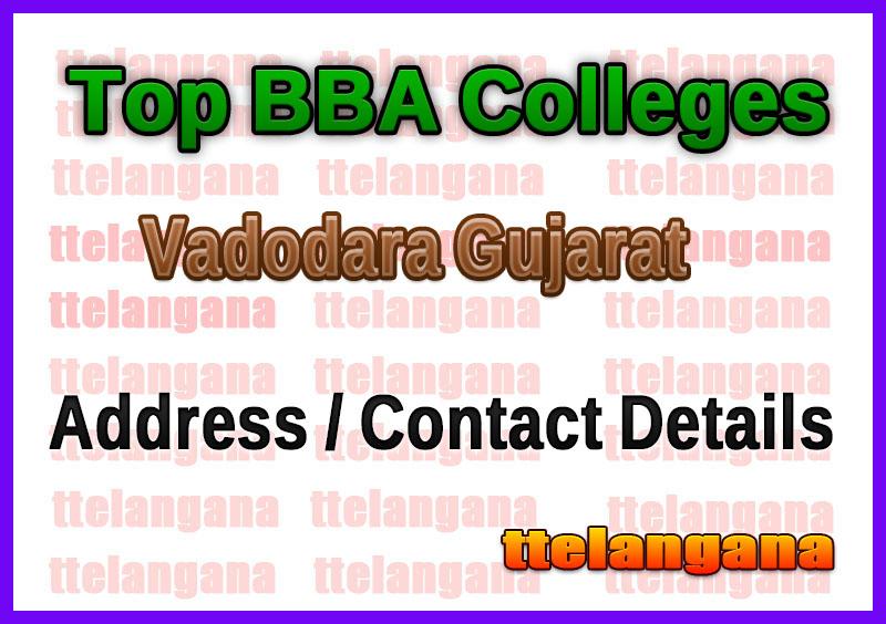 Top BBA Colleges in Vadodara Gujarat