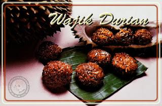 Resep Cara Membuat Kue Wajik Durian Manis Legit