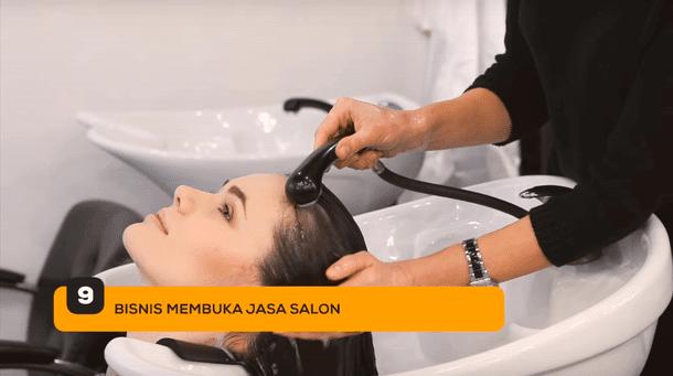 9. Bisnis Membuka Jasa Salon