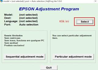 Resetter Printer Epson L220