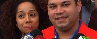 La embajadora de Estados Unidos y el embajador de Venezuela