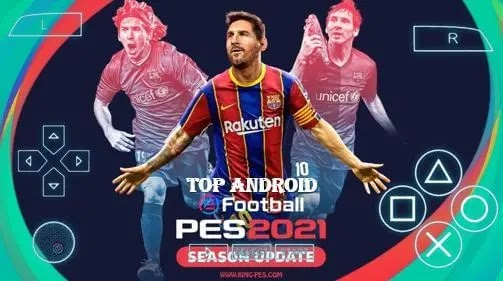 PES 2021 PPSSPP PS4