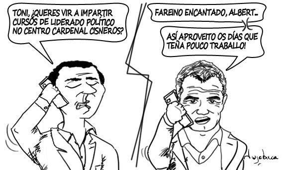 Albert Rivera recruta a Toni Cantó para dar clases de liderado político