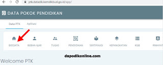 Klik biodata PTK