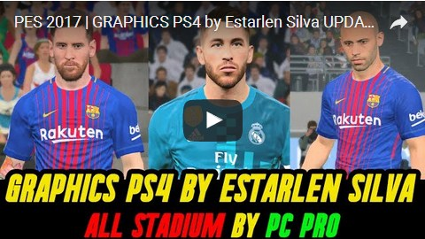PES 2017 New PS4 graphic dari Esterlan Silva