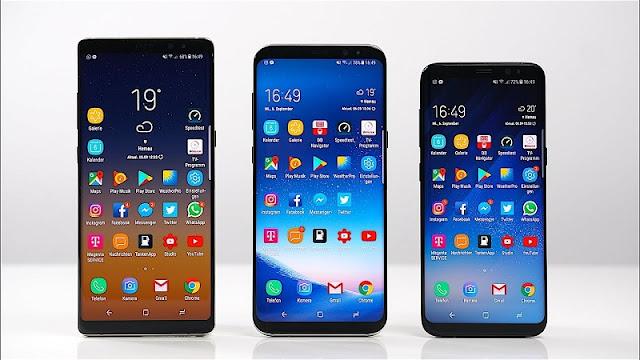 Up rom quốc tế (global) cho Samsung S8 (G950U), S8+ (G955U) và Note 8 (N950U)