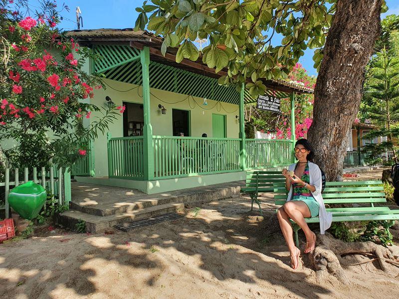 Vila de Mangue Seco: casa da prima de Jorge Amado