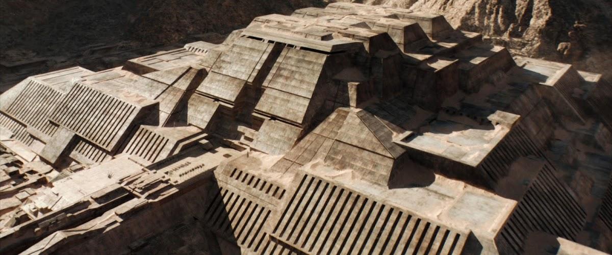 Arrakeen Palace in Dune (2021) movie