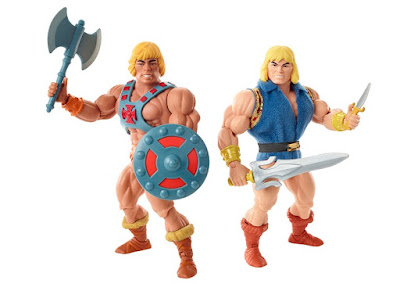 San Diego Comic-Con 2019 Exclusive Masters of the Universe He-Man & Prince Adam Action Figure Box Set by Mattel