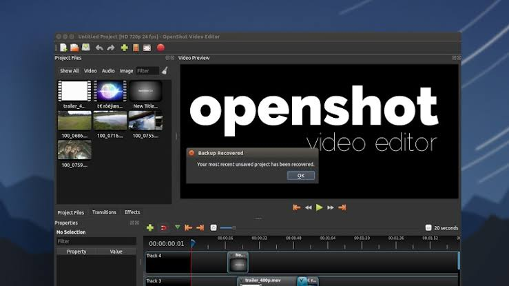 OpenShot Video Editing Tool