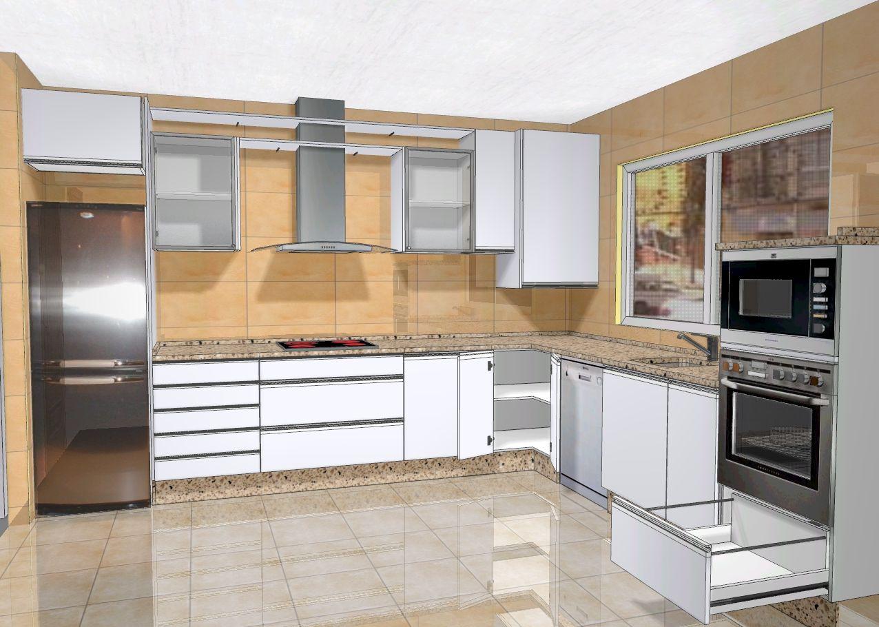 Cocinas Zaragoza | Albanil En Zaragoza Reformas De Pisos Y Trabajo De Albanileria En