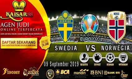 PREDIKSI BOLA TERPERCAYA SWEDIA VS NORWEGIA 09 SEPTEMBER 2019