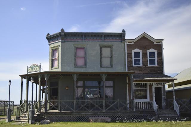 1880 Town - Dakota del Sur, exterior Saloon