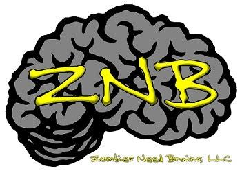 ZNB (Zombies Need Brains) Logo