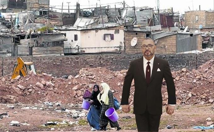 """Mohamed VI, el muy rico """"rey de los pobres""""."""