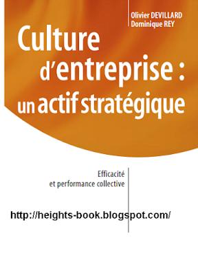 Télécharger Livre Gratuit Culture d'entreprise  un actif stratégique pdf