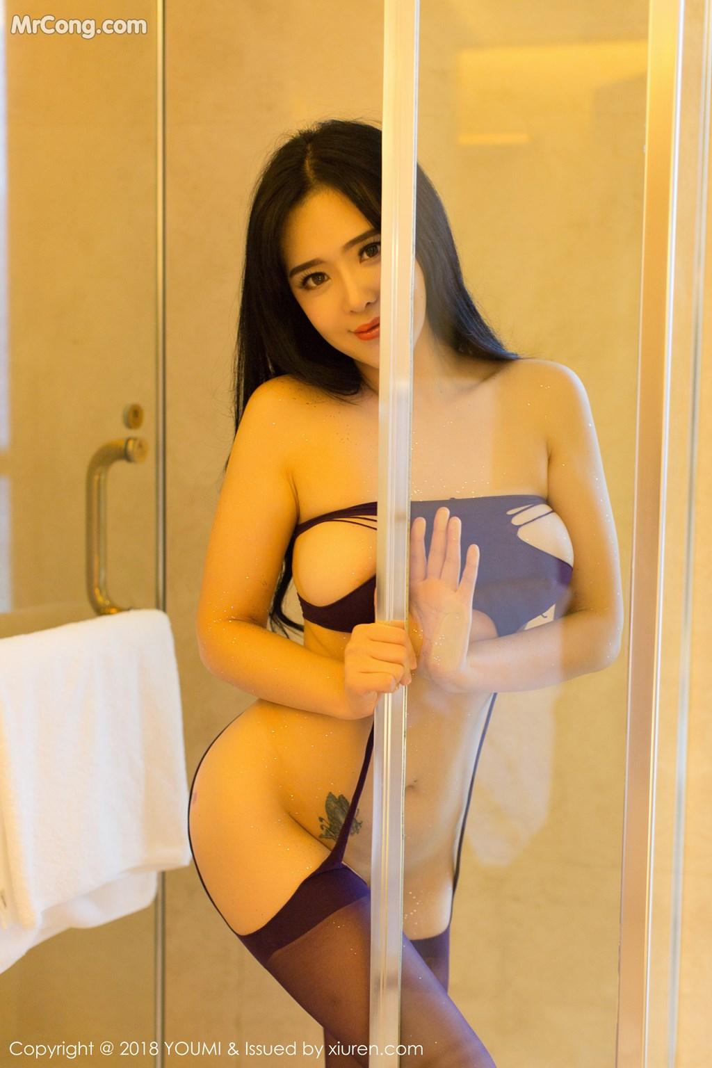 Image YouMi-Vol.124-Liu-Yu-Er-MrCong.com-033 in post YouMi Vol.124: Người mẫu Liu Yu Er (刘钰儿) (41 ảnh)