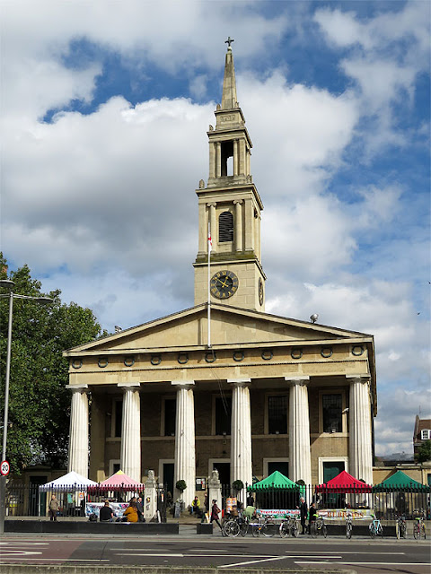 St John's Church, Waterloo by Francis Octavius Bedford, Waterloo Road, South Bank, London