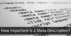 How Important is a Meta Description?