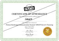 официальный сертификат международного образца Pyramid Educational Consultants, Inc