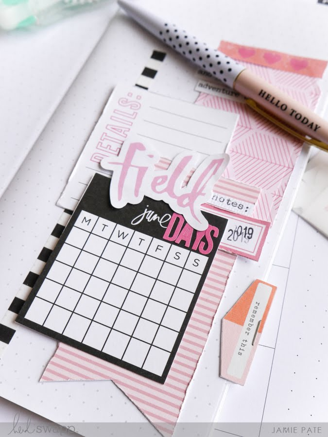 How I Make My Journal Stand Out with Heidi Swapp Journal Studio by Jamie Pate | @jamiepate for @heidiswapp