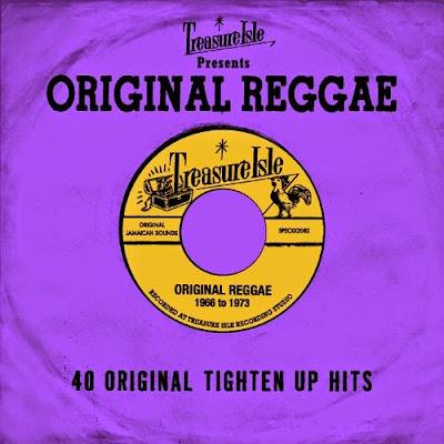 TREASURE ISLE PRESENTS ORIGINAL REGGAE - 40 Original Tighten Up Hits - 1968 to 1973