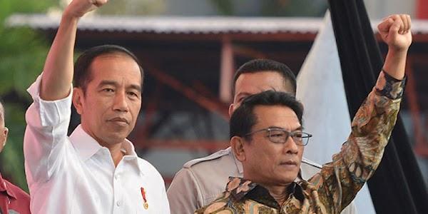 Demi Tunjukkan Netralitas, Presiden Joko Widodo Disarankan Copot Moeldoko
