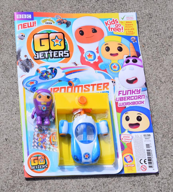 Go Jetters magazine - issue one with free toy