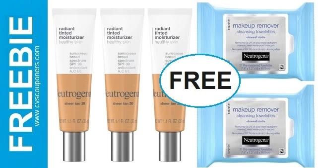 FREE Neutrogena Tinted Moisturizer CVS Deal