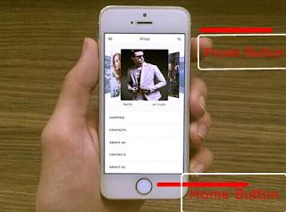 Cara Screenshot Iphone 5s