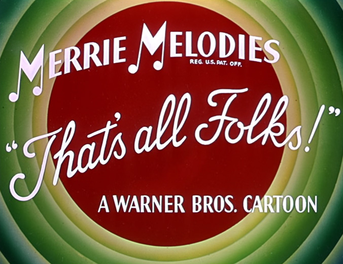 Merrie Melodies That's all Folks!