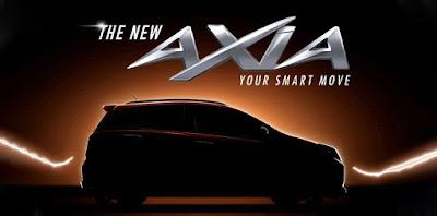 Harga dan Spesifikasi Perodua Axia Facelift 2019