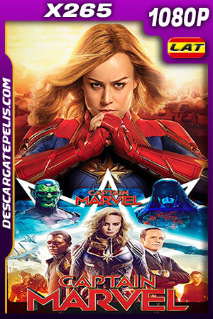 Capitana Marvel (2019) 1080P X265 Latino – Ingles