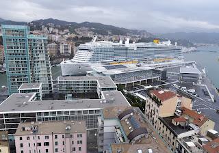 Entra in servizio Costa Smeralda, nave alimentata a lng