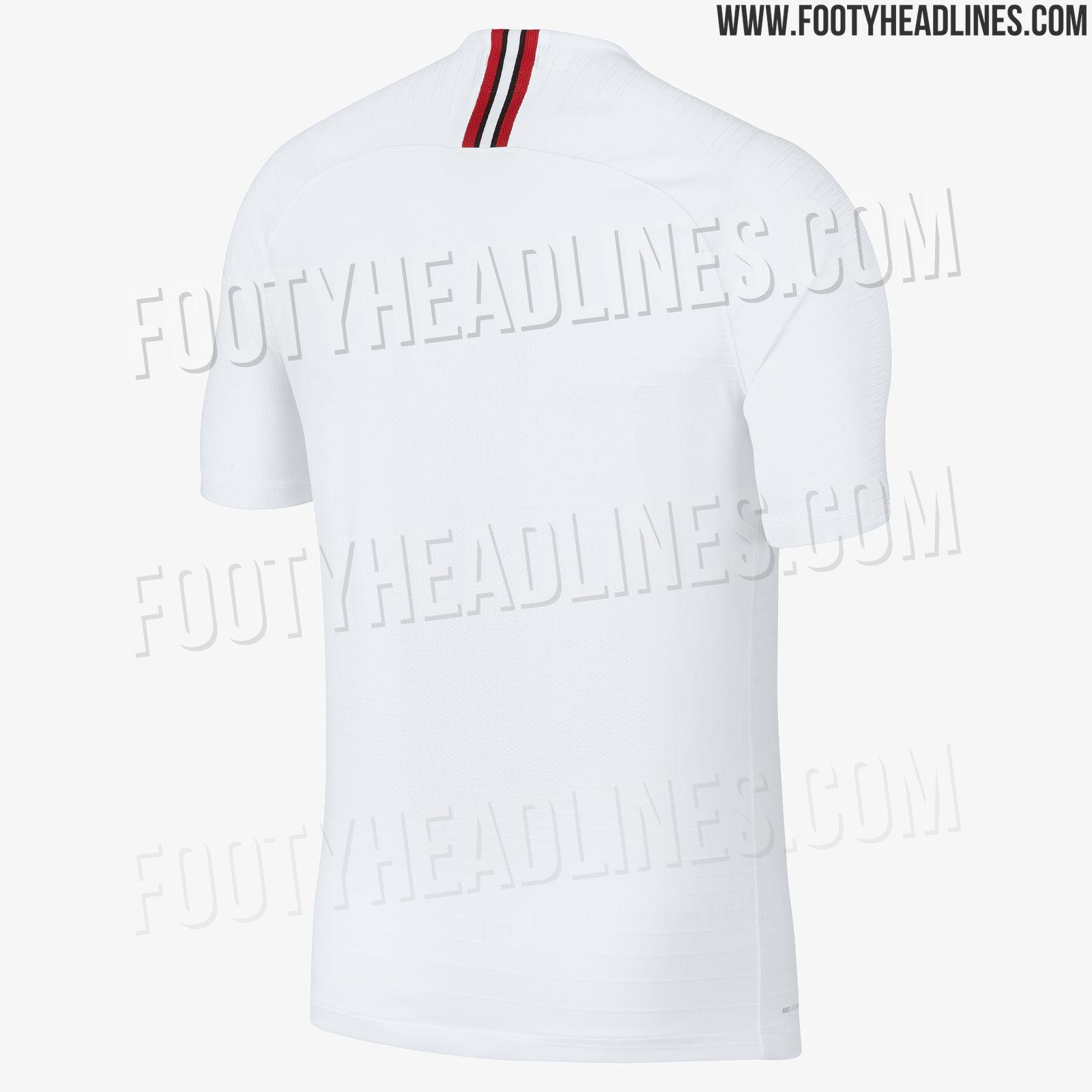 Champions League 4 Matchday Round Season 2018 2019: Jordan PSG 18-19 Champions League Kits Leaked