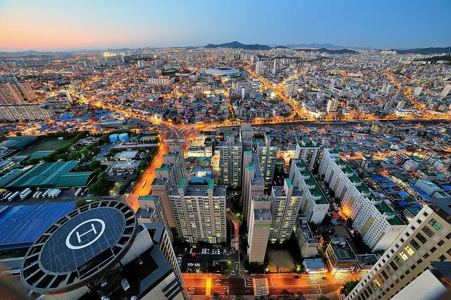 Incheon- khu kinh tế tự do đầu tiên ở Hàn Quốc