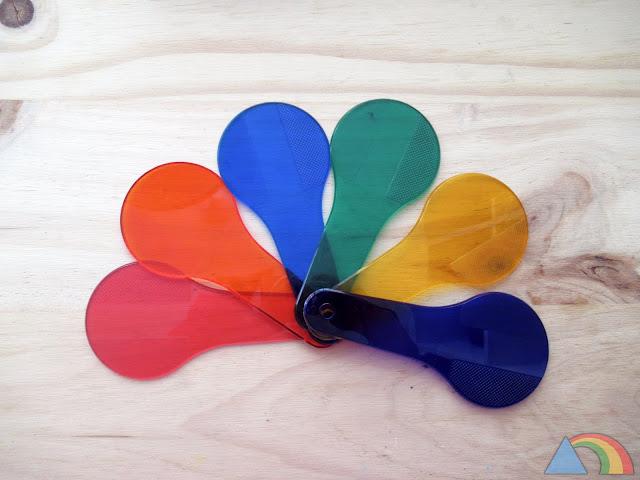 Palas de colores