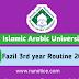 Fazil 3rd Year Routine 2019 IAU